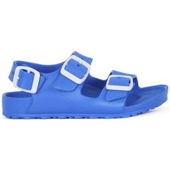 Sapatos Rapaz Chinelos Birkenstock Milano Kids Eva Azul