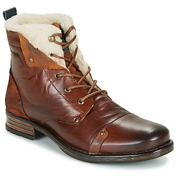 Sapatos Homem Botas baixas Redskins YOUDINE Castanho