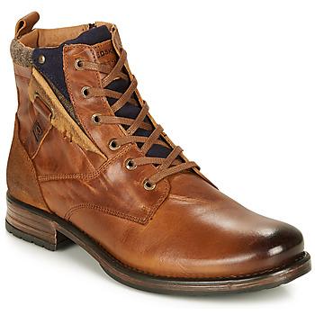 Sapatos Homem Botas baixas Redskins YLMAZ Conhaque