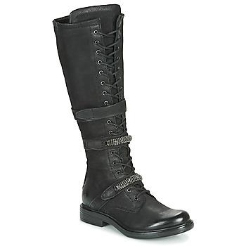Sapatos Mulher Botas Mjus CAFE HIGH Preto