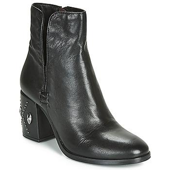 Sapatos Mulher Botins Mjus TWISTER METAL Preto