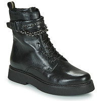 Sapatos Mulher Botas baixas Mjus TRIPLE STRAP Preto
