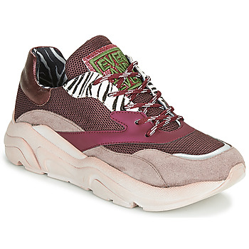 Sapatos Mulher Sapatilhas Meline JOLI Rosa / Bege