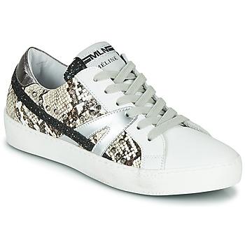 Sapatos Mulher Sapatilhas Meline PANNA Branco / Pitão
