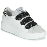 Sapatos Mulher Sapatilhas Meline SCRATCHO Branco / Glitter