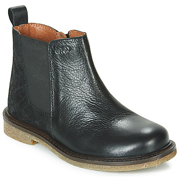 Sapatos Rapariga Botas baixas Aster WAXOU Preto