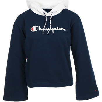 Textil Mulher Sweats Champion Hooded Sweatshirt Wn's Preto