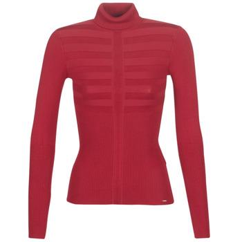 Textil Mulher camisolas Morgan MENTOS Vermelho