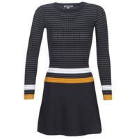 Textil Mulher Vestidos curtos Morgan ROXFA Marinho / Branco / Amarelo