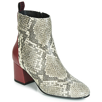 Sapatos Mulher Botins Gioseppo NEUBURG Bordô
