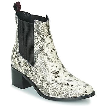 Sapatos Mulher Botins Gioseppo MIKKELI Preto / Branco