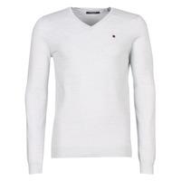 Textil Homem camisolas Teddy Smith PIKO Branco