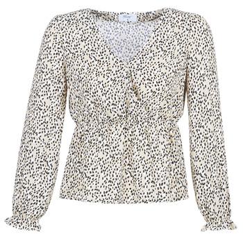 Textil Mulher Tops / Blusas Betty London LOVA Bege / Preto