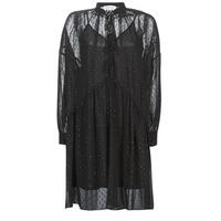 Textil Mulher Vestidos curtos Replay W9525-000-83494-098 Preto