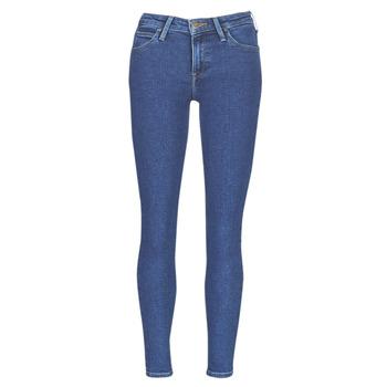 Textil Mulher Calças de ganga slim Lee SCARLETT STONE MILTONA Azul