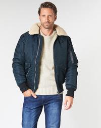 Textil Homem Jaquetas Schott OHARA Marinho
