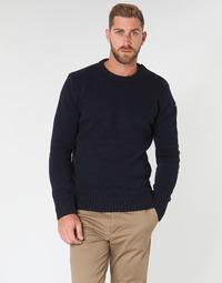 Textil Homem camisolas Schott PLOUTRIDER1 Marinho