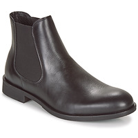 Sapatos Homem Botas baixas Selected LOUIS LEATHER CHELSEA Preto