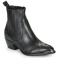 Sapatos Mulher Botins Ikks BP80075-03 Preto