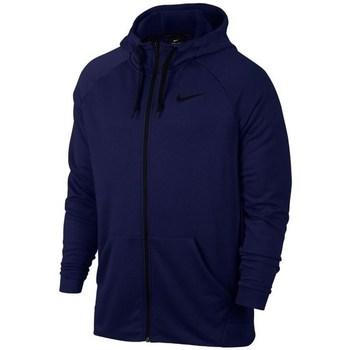 Textil Homem Sweats Nike Dry FZ Fleece Hoodie Trening Azul marinho