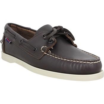 Sapatos Homem Sapato de vela Sebago 121651 Castanho