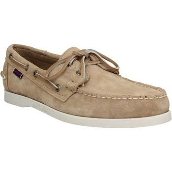 Sapatos Homem Sapato de vela Sebago 121665 Bege