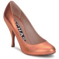 Sapatos Mulher Escarpim Rochas 451530 Laranja-metálico