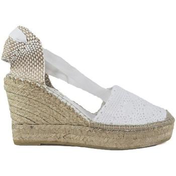 Sapatos Mulher Alpargatas Vidorreta Cuña  05900 Blanco Branco