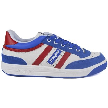 Sapatos Homem Sapatilhas J´hayber Zapatillas  Pegasus Blanco-Royal-Rojo Azul