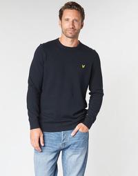 Textil Homem camisolas Lyle & Scott KN400VC-Z273 Marinho