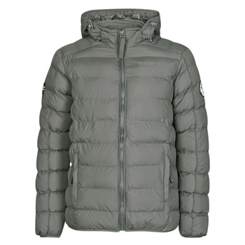 Textil Homem Quispos Geographical Norway BALANCE-GRIS-FONCE Cinza