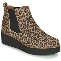 Sapatos Mulher Botas baixas Fericelli LORNA Castanho
