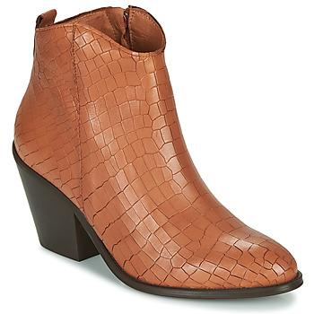 Sapatos Mulher Botins Fericelli LISA Castanho