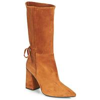 Sapatos Mulher Botas Fericelli LUCIANA Camel