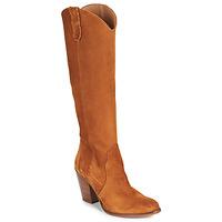 Sapatos Mulher Botas Fericelli LUNIPIOLLE Camel