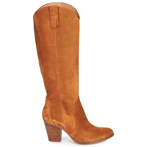 Fericelli LUNIPIOLLE Camel - Entrega gratuita- Sapatos Botas Mulher 172