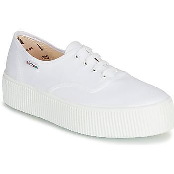 Sapatos Mulher Sapatilhas Victoria 1915 DOBLE LONA Branco