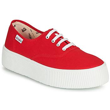 Sapatos Mulher Sapatilhas Victoria 1915 DOBLE LONA Vermelho