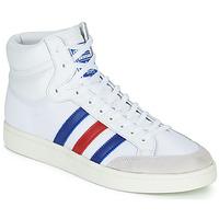 Sapatos Sapatilhas de cano-alto adidas Originals AMERICANA HI Branco / Azul / Vermelho
