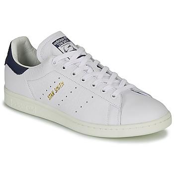 Sapatos Sapatilhas adidas Originals STAN SMITH Branco / Azul