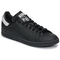 Sapatos Sapatilhas adidas Originals STAN SMITH Preto / Branco