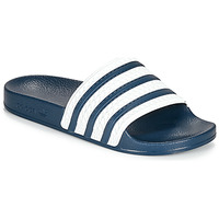 Sapatos chinelos adidas Originals ADILETTE Azul / Branco