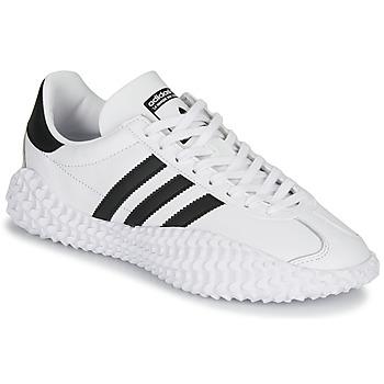 Sapatos Homem Sapatilhas adidas Originals COUNTRYXKAMANDA Branco / Preto