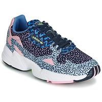 Sapatos Mulher Sapatilhas adidas Originals FALCON W Azul / Rosa