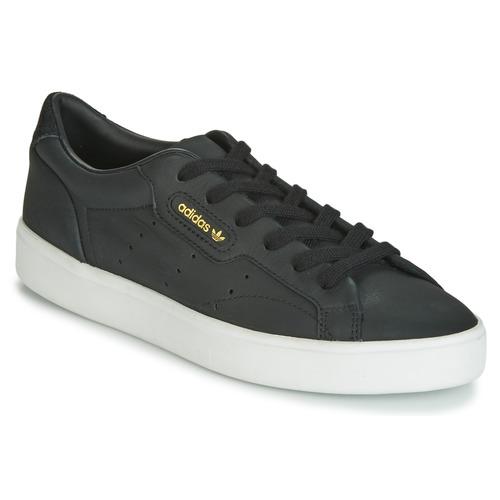 Sapatos Mulher Sapatilhas adidas Originals SLEEK W Preto
