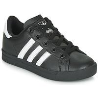 Sapatos Criança Sapatilhas adidas Originals COAST STAR C Preto / Branco