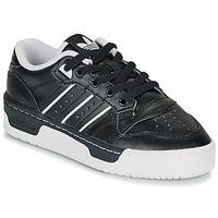 Sapatos Criança Sapatilhas adidas Originals RIVALRY LOW J Preto