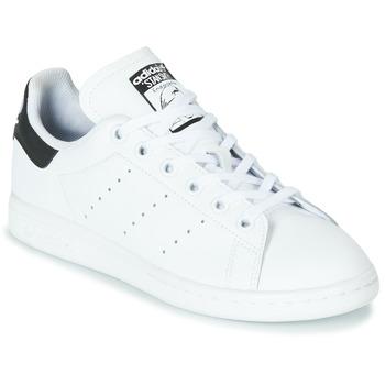 Sapatos Criança Sapatilhas adidas Originals STAN SMITH J Branco / Preto
