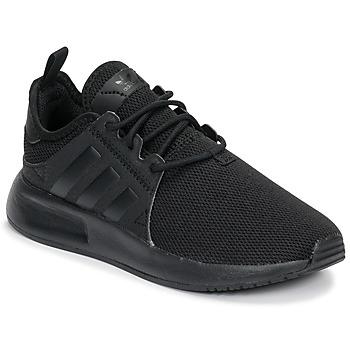 Sapatos Rapaz Sapatilhas adidas Originals X_PLR C Preto