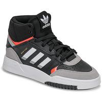 Sapatos Rapaz Sapatilhas de cano-alto adidas Originals DROP STEP J Preto / Cinza